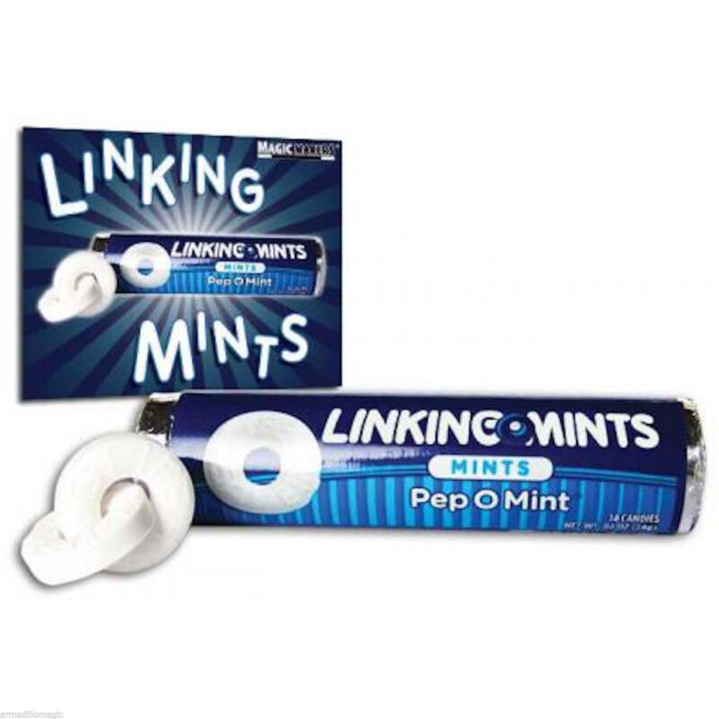 Linking Mints - Amazing Magic Trick With Candy - All Included