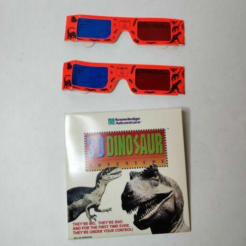 3D Dinosaur Adventure Kids CD w/ 2 Glasses