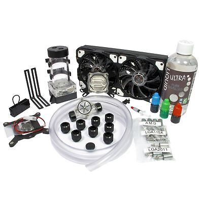Liquid.cool Vortex One Advanced Custom DIY 240mm Water Cooling Kit