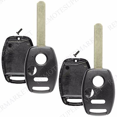 2 Replacement for 2007-2013 Honda CR-V Remote Car Keyless Key Fob Shell Case