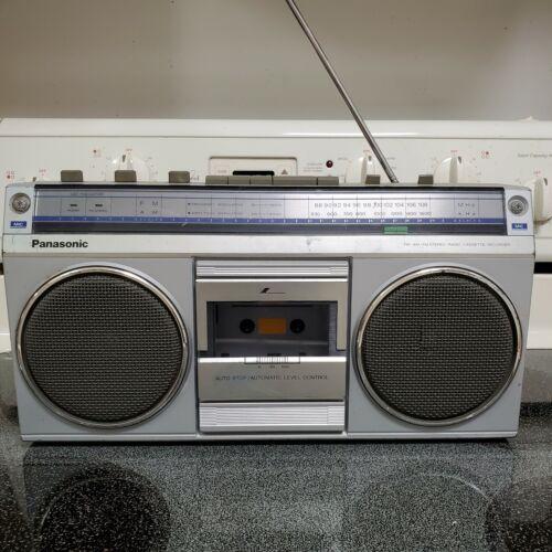 Vintage Panasonic RX-4940 Radio Stereo Boombox Music Portable Ghettoblaster