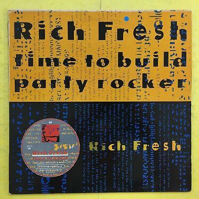 Rich Fresh - Time To RESIDUI / Party Rocker - City Beat cbe-1232 EX CONDIZIONI