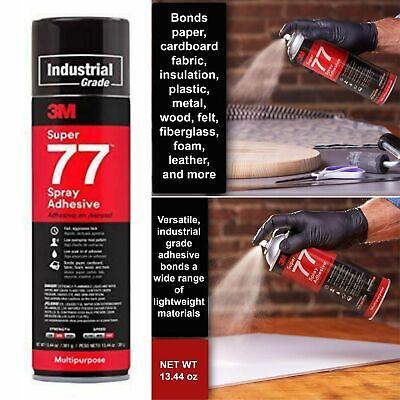 Multipurpose Permanent Spray Adhesive Glue Paper Cardboard Plastic Metal Wood