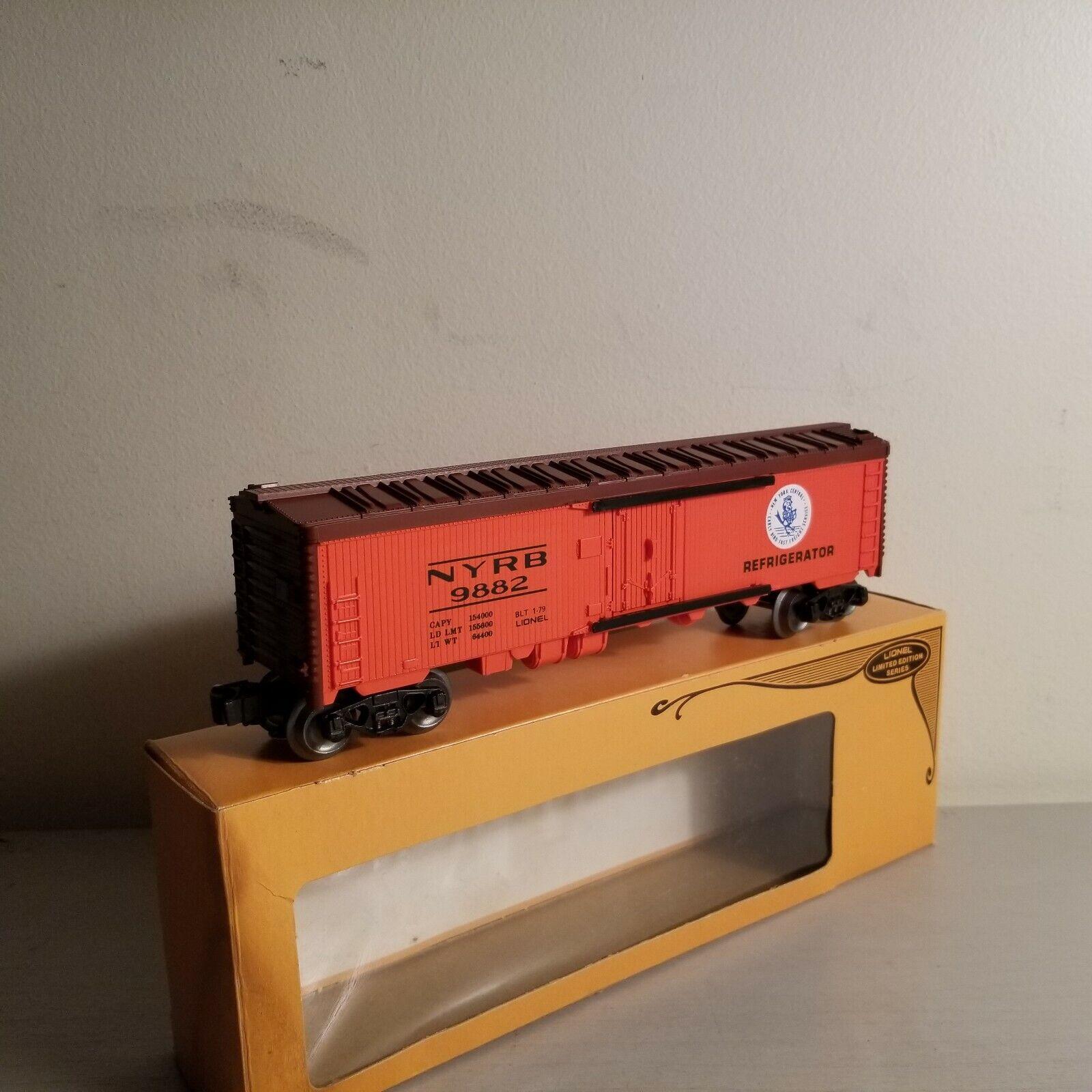 LIONEL 6-9882 New York Central Reefer BRAND NEW Original Box  - $9.50