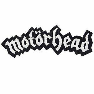 Motorhead Iron On Patch Sew Embroidered Retro Tattoo Metal Punk Lemmy