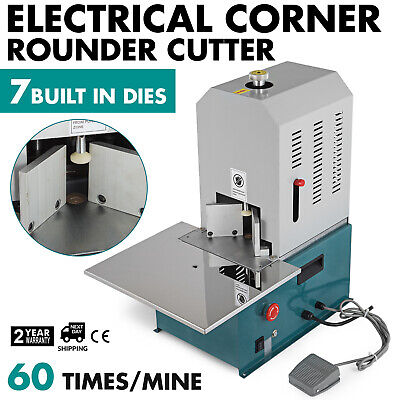 Electrical Corner Rounder Cutter Machine with 7 Dies PVC 180
