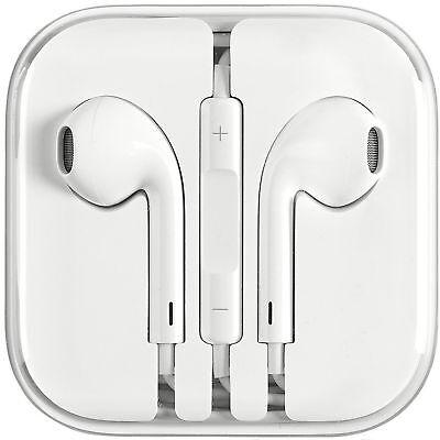 Original OEM Apple Earpods Earphones work iPhone 6S 6 5 5S 4S with Remote & Mic