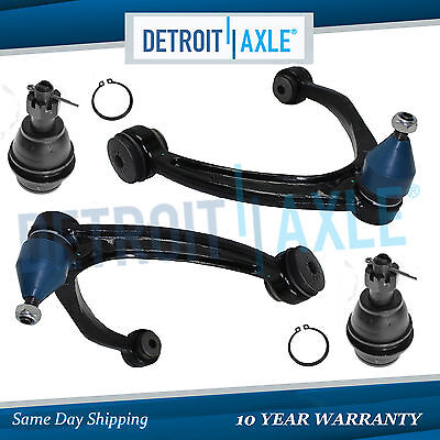 Chevy Silverado 1500 Tahoe Suburban Front Upper Control Arm Lower Ball Joint Kit