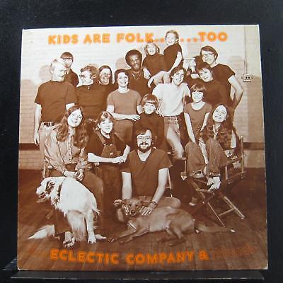 Electric Company & Friends - Kids Are Folk…Too LP VG+ DD 001 Private Folk Vinyl