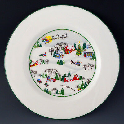 Lenox China SLEIGHRIDE Salad Accent Plate 8