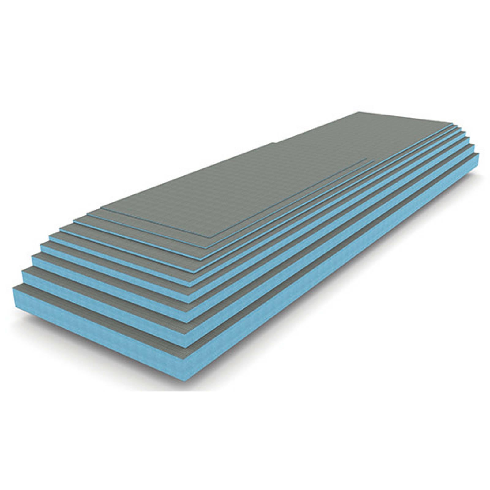 13 M²) Building Blocks XPS 0 1/4in Rigid Foam Haftuntergrun