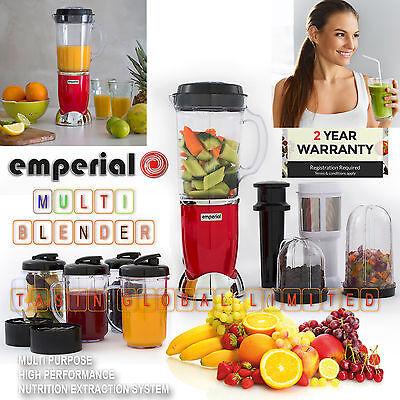 - Multifunctional 4 in 1 Smoothie Maker Blender Grinder Juicer Set