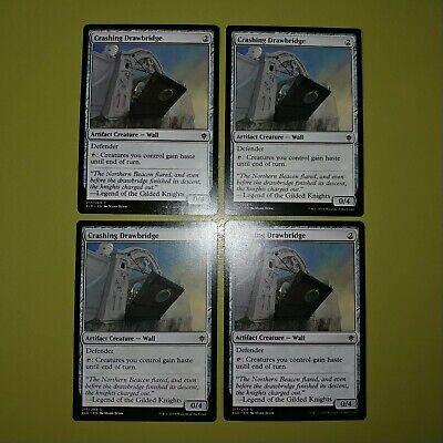 Crashing Drawbridge x4 Throne of Eldraine 4x Magic the Gathering MTG