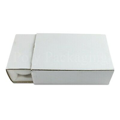 128 x White FOAM LINED Postal Boxes(11x7x2