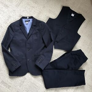 Boys Suit, Navy - size 10  from Crewcuts
