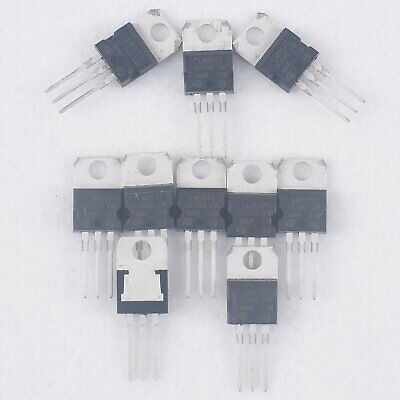 50pcs Lm317t Lm317 New Voltage Regulator Ic 1.2v To 37v 1.5a Ldo Power Supply