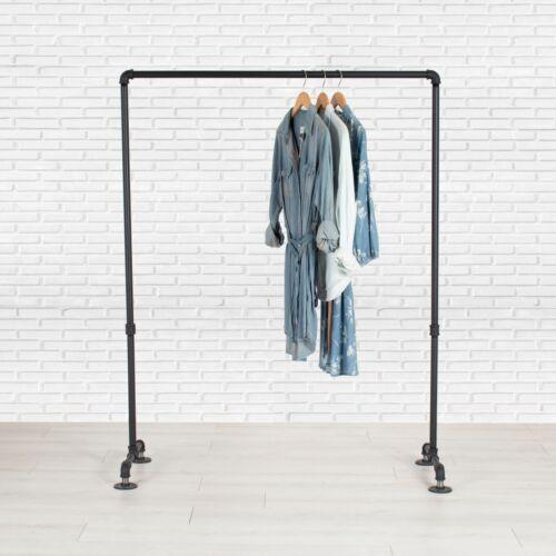 Industrial Pipe Clothing Rack by William Robert
