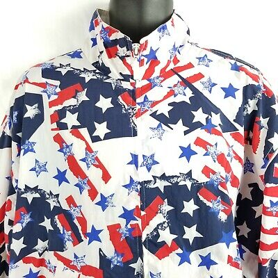 Flag Theme United States Holiday 4th July Memorial Day Woman Light Jacket