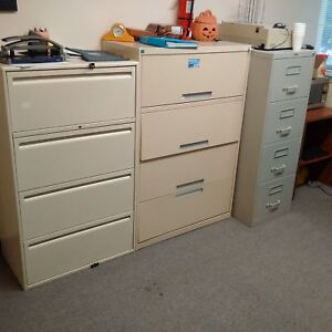 Filling cabinets, Office Desks, Chairs, etc.  - BLOWOUT PRICING!