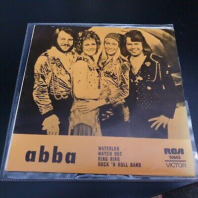 "ABBA - Waterloo 7"" RARE EP Australia RCA 20605 -  1974"
