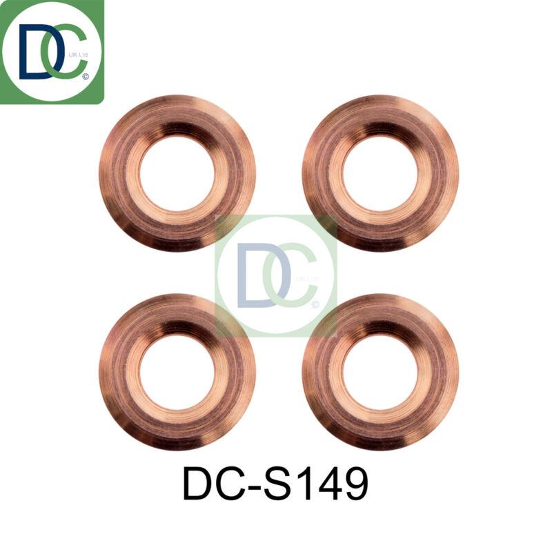 4 x Diesel Injector Washers Seals - Lexus IS II 220 d Denso 2AD-FHV