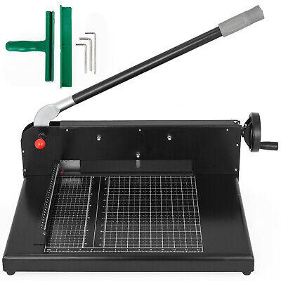 12 198 Guillotine Paper Cutter Professional Stack Paper Cutter Machine