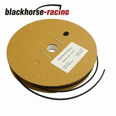 Black 332 100 Ft. 100 Feet 2.4mm Polyolefin 21 Heat Shrink Tubing Tube Cable