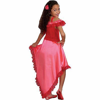 Senorita Spanish Flamenco Dancer Girls Child L large 10-12 Costume Kids Dress - Flamenco Girls