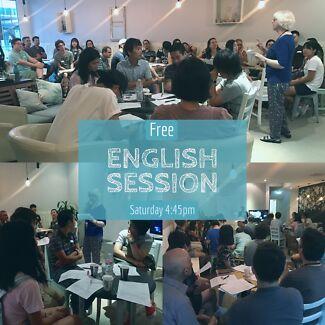 Free English Session