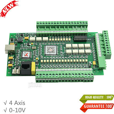 4 Axis Cnc Interface Adapter Breakout Board Motion Card For Milling Machine