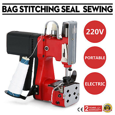 220V Industrial Portable Electric Bag Stitching Closer Seal Sewing Machine US for sale  Shipping to Nigeria