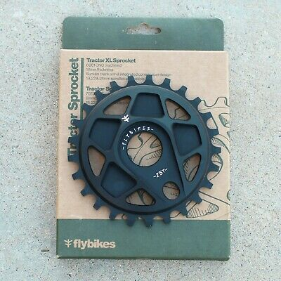 FLY BIKES BMX TRACTOR BICYCLE SPROCKET BLACK 25T Fly Bmx Bikes