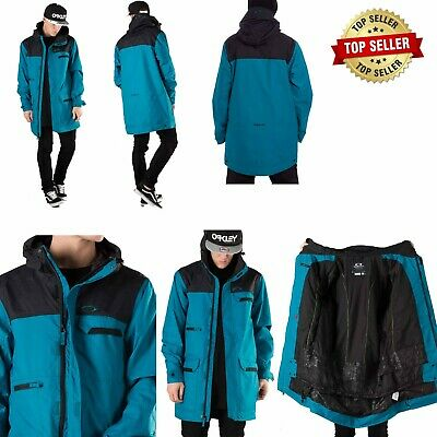 Oakley Snowboard Coat Snowboarding - EL Cap Bio Zone Shell Jacket - Medium