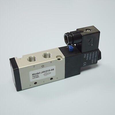 14 Pneumatic 52 Way Electric Control Solenoid Valve 4v310-08 Ac110v