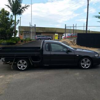 2007 FORD FALCON XR6 MK11 MANUAL DROPSIDE LONG TRAY UTE