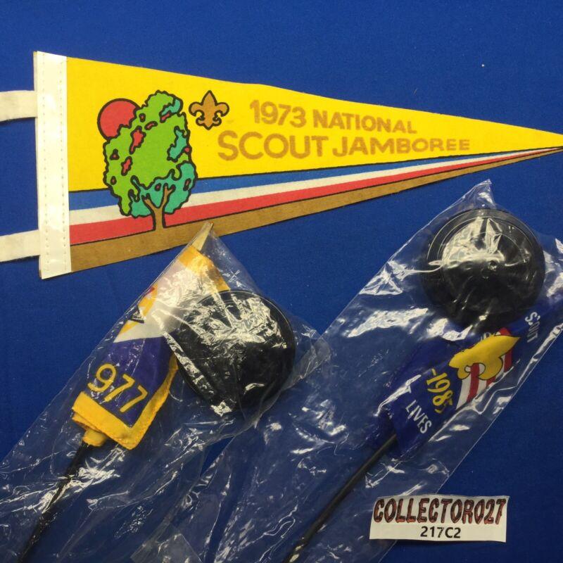Boy Scout Jamboree Desk Flags & Mini Pennant
