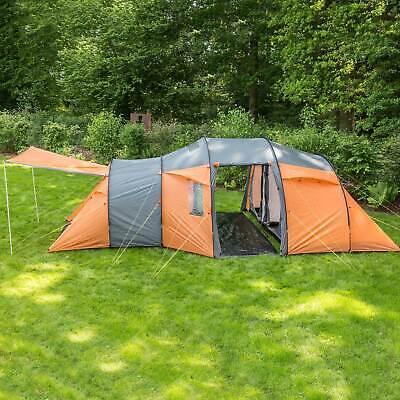 skandika Skoppum 8 persone tenda campeggio familiare tunnel zanzariera nuova