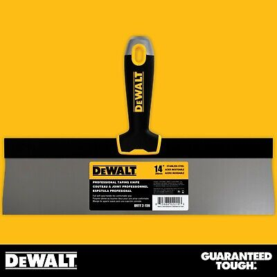 Dewalt Taping Knife 14 Stainless Steel Drywall Taping Tool Lifetime Warranty