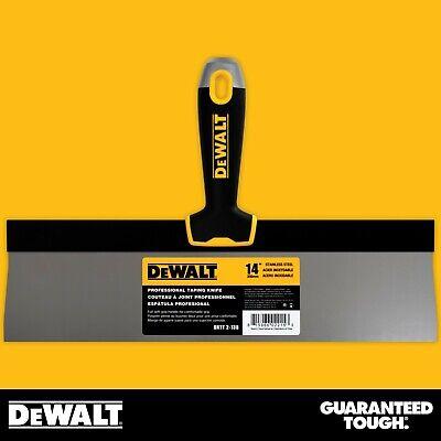 Dewalt Taping Knife 14 Stainless Steel Drywall Taping Tool Lifetime Warranty
