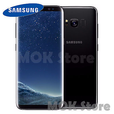 "Samsung Galaxy S8 SM-G950 LTE 4G 64GB 5.8"" (Factory Unlocked) - Midnight Black"