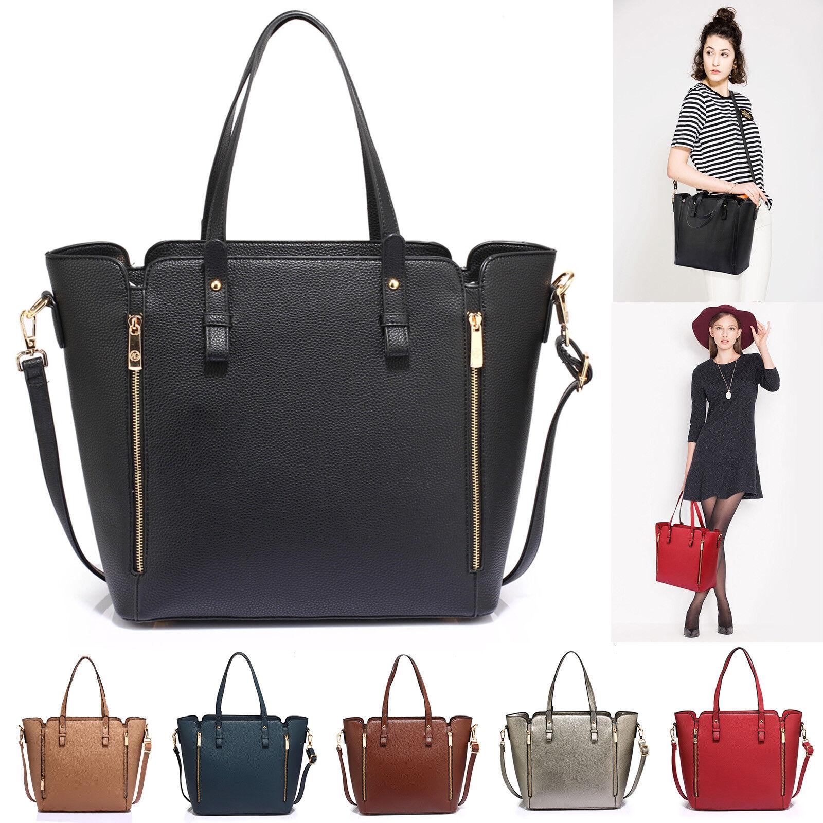 Large Shoulder Bag For Women Designer Style Handbag Ladies F