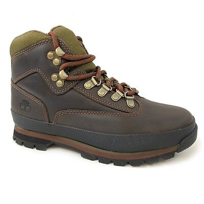 Timberland Women's Euro Hiker Brown Leather Hiking Boots 8364B Timberland Womens Euro Hiker
