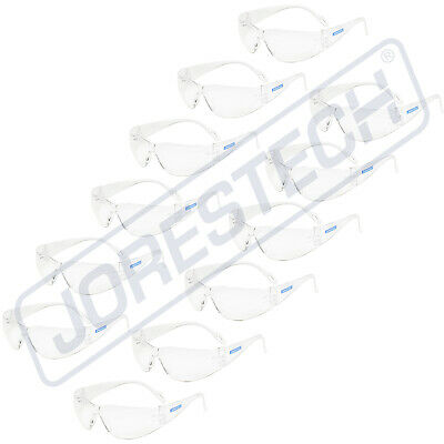 Kids 12 Pair Jorestech Clear Uv Lens Lot Safety Glasses Bulk New