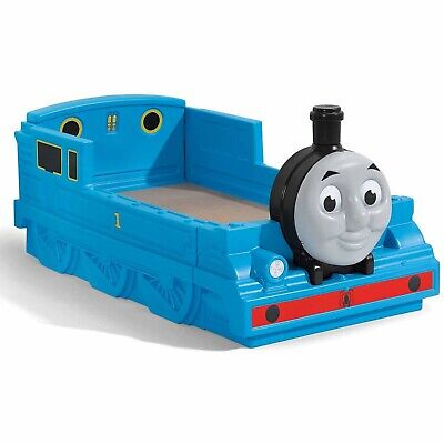 Step2 Thomas the kids Tank Engine Plastic Toddler Bed, Blue