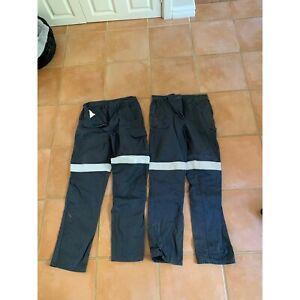 Women's work pants reflective strips