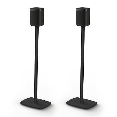 Flexson: Floor Stand For Sonos 1 - Black (Pair) (AAV-FLXS1FS2021US)