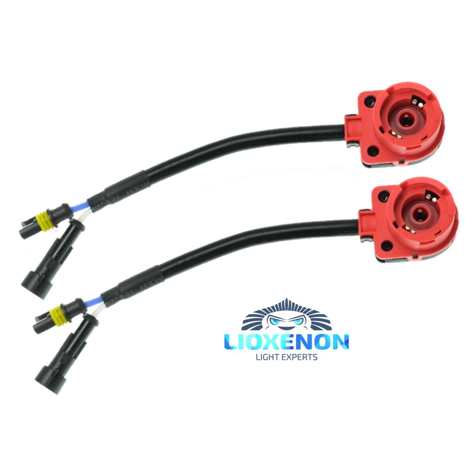 D2S D2R Adapterkabel Vorschaltgerät Xenon Scheinwerfer Steuergerät Adapter NEW
