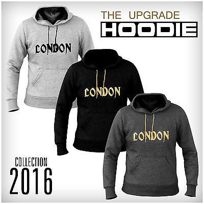 New XXR Versatile London Fleece Hoodies Hooded Sweat Shirt Gym Clothing Running Fleece Running Sweatshirt