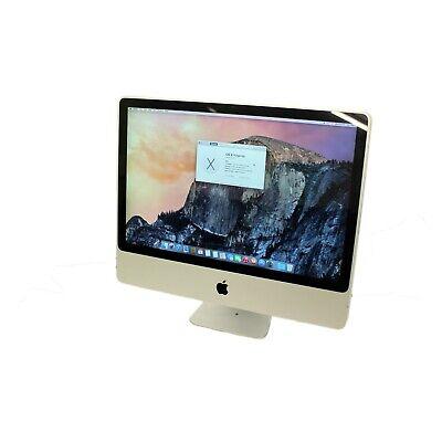 """Apple iMac 9,1 A1225 24"""" Core 2 Duo - 8GB RAM - OSX 10.10 - 500GB & Warranty - B"""