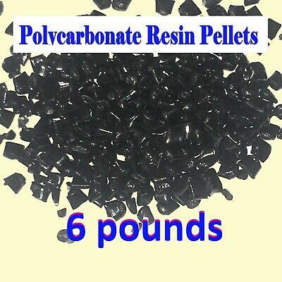 Polycarbonate Black Lexan Resin Pellets R213-conc 6 Pounds